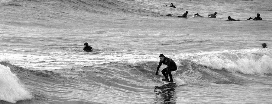 surfles in Scheveningen